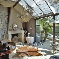 This rustic lake house in the Italian countryside has been renovated into a beautiful dream home!
