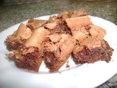 Coconut Brownie. Ver receta: http://www.mis-recetas.org/recetas/show/15963-coconut-brownie