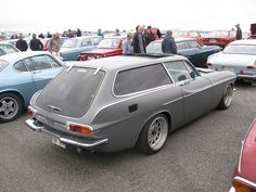 Volvo P1800 ES by nakhon100, for Lui