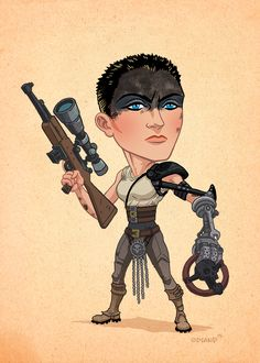 Cool MAD MAX: FURY ROAD Character Art Set by Tim Odland — GeekTyrant