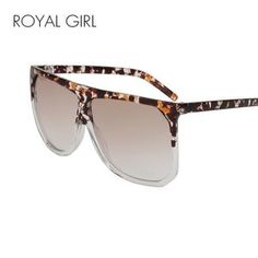 8753937147b Lisipieces-ROYAL GIRL Fashion Woman Sunglasses Flat Top Sunglasses