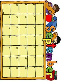 1000 images about teacher calendar newsletter for Preschool classroom schedule template