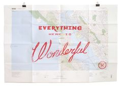 WONDERFUL SAN FRANSISCO MAP by Best Made
