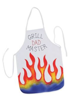 Grill Master Apron make for Dad for Father's Day