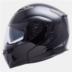 Casco MT Flux Negro Metalico Modular