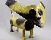 scrap iron yard art | Yard Art Metal Folk Art Found Object Scrap Metal Dog Sculpture