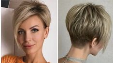 Chic Short Hair, Cute Hairstyles For Short Hair, Hairstyles Haircuts, Wavy Hair, Short Hair Styles, Short Pixie Haircuts, Shaved Hairstyles, Short Hair With Layers, Short Hair Cuts For Women