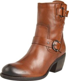 """Clarks Women's Mascarpone Cafe Boot leather Manmade sole Shaft measures approximately 8"""" from arch Heel measures approximately 2"""" Boot opening measures approximately 11.5"""" around Extra soft premium leather Synthetic lining …"""