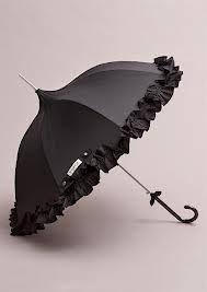 Lisbeth Dahl - black ruffles.