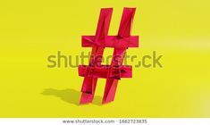 3d Rendering Concept Purple Htag On Stock Illustration 1662723835