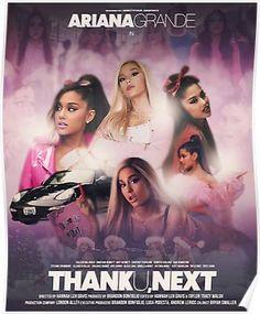 Ariana Grande thank u next - Iana ☾ Ariana Grande ☽ ♡ Grande - Ariana Grande 壁紙, Ariana Grande Poster, Ariana Grande Wallpaper, Ariana Grande Pictures, Poster Minimalista, Girl Posters, Retro Poster, Thank U, Dangerous Woman