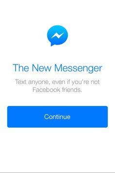 Facebook Messenger totalmente adaptado a iOS7 | No sin mi mac