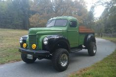 1941 International Pick-Up Truck.