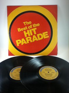 The Best Of The Hit Parade A Columbia House Musical Treasury Vintage Vinyl 33 Double Record Album LP