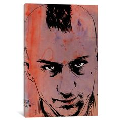East Urban Home Travis Bickle by Giuseppe Cristiano Original Painting on Wrapped Canvas Size: