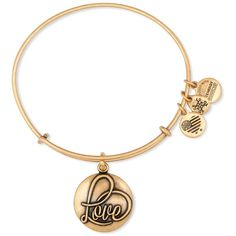 Alex and Ani Love Iii Expandable Wire Bangle ($28) ❤ liked on Polyvore featuring jewelry, bracelets, rafaelian gold, wire bangles, bangle bracelet, wire jewelry, expandable bangle bracelet and hinged bracelet