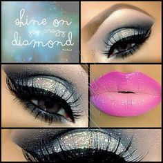 Love the eye look, not the lipstick.