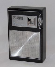 https://flic.kr/p/PzkL78   Vintage General Electric Transistor Radio, Model P740A, AM Band Only, 8 Transistors, Made In USA, Circa 1965
