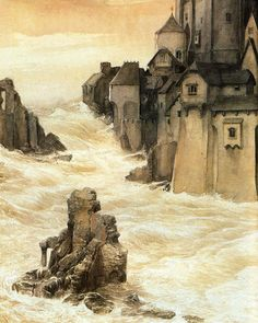 Alan Lee Y's - the City of the Depths  (off 'Castles')