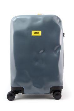 Crash Baggage Ghost Grey Cabin size 4 wheels $250,00