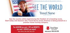 Find the right travel nursing job for you: http://ht.ly/iiYK5