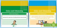 Year 3 Australian HASS Civics and Citizenship Content Descriptor Statements Display Pack - English (Australian)-Australia - curriculum,aims, objectives,Australia Year 6, Australian Curriculum, Stressed Out, Citizenship, Decision Making, Teaching Resources, Content, How To Plan, Learning