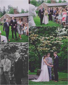 Megan + Steven | Pearl S. Buck Estate | Perkasie, PA » Sharyn Frenkel Photography | Rose Quartz and Serenity | Outdoor Wedding | BHLDN | BHLDN Bride | Tamsin | Navy groom