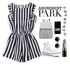 """Amusement park"" by helloitsmari ❤ liked on Polyvore featuring Converse, Bobbi Brown Cosmetics and Givenchy"