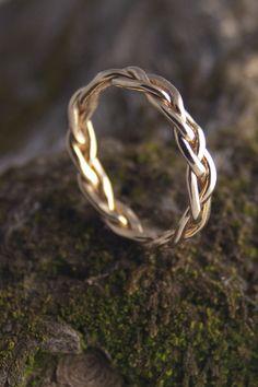 Anillo trenzado - braided ring