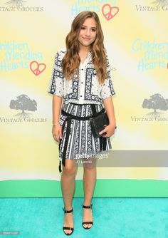 Mackenzie Ziegler attends the Children Mending Hearts 9th Annual Empathy Rocks Fundraiser on June 11, 2017 in Beverly Hills, California.