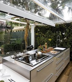 21 Modern Kitchen Concepts Every Home Prepare Demands to See Kitchen Interior, Beautiful Kitchens, House Design, Cool Kitchens, Kitchen Decor, House Interior, Home Kitchens, Outdoor Kitchen, Kitchen Design