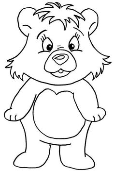 Cute bear color page. Animal coloring pages. Coloring pages for kids. Thousands of free printable coloring pages for kids! Egg Coloring Page, Bear Coloring Pages, Cool Coloring Pages, Christmas Coloring Pages, Printable Coloring Pages, Kids Colouring, Coloring Sheets, Coloring Books, Felix The Cats