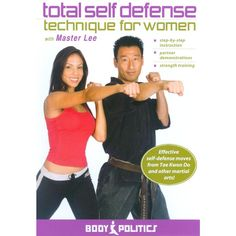 Total Self Defense Technique for Women With Master Lee (dvd_video)