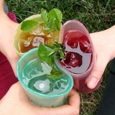 edible drinking glasses!
