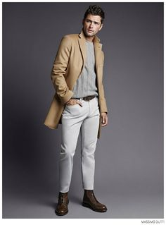 Sean OPry Models Fall 2014 Looks for Massimo Dutti image Massimo Dutti Fall Winter 2014 Sean Opry Look Book 003