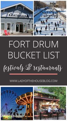 Looking for fun events and restaurants to try around Fort Drum, NY? I'm sharing…