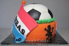 Nederlands voetbal taart