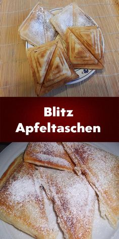 Sweet Recipes, Cake Recipes, Dessert Recipes, Sandwich Maker Recipes, German Baking, Mary Recipe, Party Finger Foods, Sweet Breakfast, Sweet And Salty