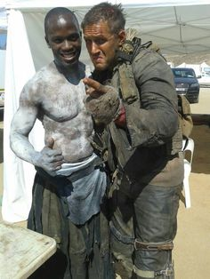 On the set of Mad Max