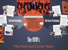"This resource includes a link to my ""1970s - Ford and Carter Years"" Prezi presentation AND a Guided Notes Worksheet for students to fill in as they go through the presentation. These notes can be used in a direct teaching environment, as a ""flipped classroom"" at home online lesson, or as a part of a blended online model of presentation.Focuses on Economic Crisis of the 70s, highlights from the two administrations, and the Iran Hostage Crisis."
