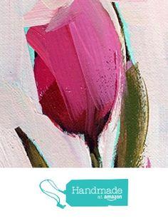 Pink Tulip no. 19 Original Oil Painting by Angela Moulton ACEO from Pratt Creek Art https://www.amazon.com/dp/B06XHJYHLF/ref=hnd_sw_r_pi_dp_j7ewzbGQ9X591 #handmadeatamazon