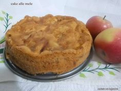 Cake alle mele - Cake with apples