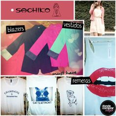 Blazers de colores, remeras de diseño, vestidos, ¡todo lo que buscás encontralo Sachiko July! ¿Cuál es tu prenda favorita?