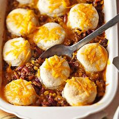 Mexican Biscuit Casserole