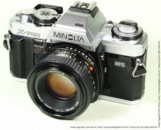 My first auto focus camera...this is when the spoiling and laziness began!