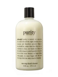 2012 Allure Reader's Choice Awards - Best Facial Cleanser - Philosophy Purity Made Simple One-Step Facial Cleanser