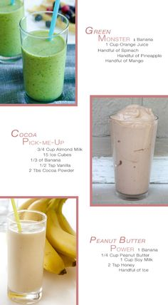 Apartment 34 | Tasty Tuesday: {Healthy Summer Smoothies} making the middle one on friday