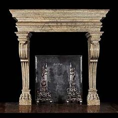 High Quality 19th Century Style Italian Renaissance Fireplace Mantle Idea