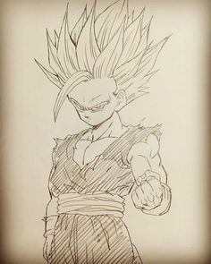 Clear Guides How To Draw Super Saiyan 2 Gohan Super Saiyan 2 How To DrawBack To 42 100 Satisfaction How To Draw Super Saiyan. Dragon Ball Gt, Dragon Z, Demon King Anime, Dbz Drawings, Pokemon Dragon, Ball Drawing, Animes Wallpapers, Goku Manga, Manga Drawing