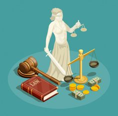 Buy Isometric Law Design Concept by macrovector on GraphicRiver. Isometric design concept with statue of themis other symbols of law and justice and money vector illustration. Lady Justice, Law And Justice, Isometric Art, Isometric Design, School Life, Law School, Design Isométrico, Van Gogh Art, Creative Poster Design